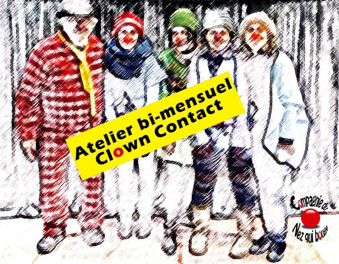 Atelier bi-mensuel Clown Contact